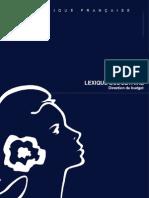 Lexique Finances Publiques