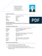 Mara Personal Resume