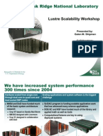 Lustre Scalability