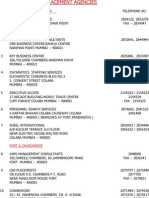 Copy of List of Placement Agencies