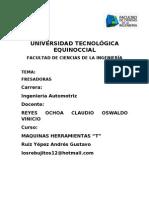 FRESADORA imprimir