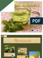 Apresentação do Chá de Ananás-Trabalho de MCCF
