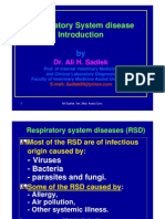 Respiratory System Disease RSD
