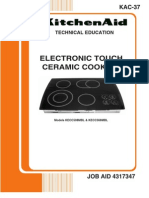 Electronic Touch Ceramic Cooktop