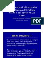 Competencias Institucionales en La Atencion Del Maltrato Infantil