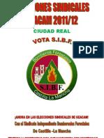 Elecciones Sindicales Geacam C. Real 2011-12
