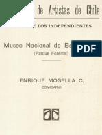 Salón de los independientes. Museo Nacional de Bellas Artes