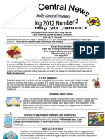 Newsletter Spring 3 2012