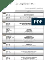Plano Catequético 2011_2012