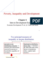 Poverty Inequality & Development