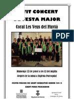 Petit Concert Festa Major Petita de Sant Pere Pescador
