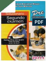 2do.+Examen+Pre+San+Marcos+2011 I