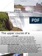 Middle Course of River Powerpoint