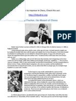 Bobby Fischer, the Mozart of Chess