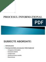 Procesul Informational