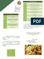 Dia Mundial da Alimentação JI/EB1 de Figueiredi 1