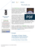 The Magic of Chess Tactics by Claus Dieter Meyer and Karsten Mueller
