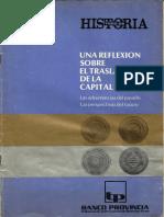 Una reflexion sobre el traslado de la Capital Federal