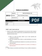 TRABAJO ACADEMICO.practica Procesal Civil