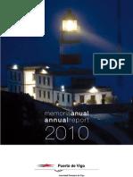 Memoria Anual Del Puerto de Vigo 2010