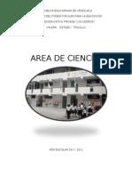 Proyecto de Area de Ciencias Los Cedros Elizabeth Abreu