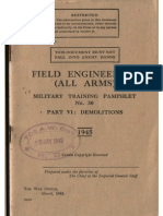 Demolitions - Field Engineering - Military Training Pamphlet 30 (1945)