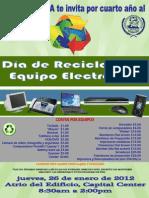 Dia de Reciclaje 2012
