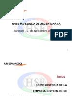 Presentación QHSE Jornada de Perforación Nov 2008