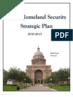 Home Land Security StratPlan2015