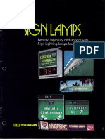 Sylvania Sign Lamps Brochure