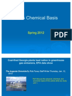 Lifes Chemical Basis 2012