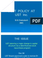 6653530 Debt Policy at Ust Inc