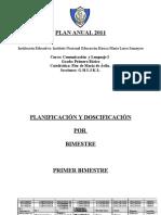 Planificación  con CNB 2010
