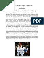 Atletas Destacados de Guatemala