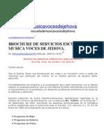 Escuela musica jehova