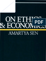 Amartya Sen on Ethics and Economics