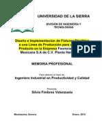 Proyetco Silvia Fimbres Faurecia