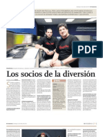 Jóvenes Emprendedores Peruanos y el el despegue del Cine en Animación.