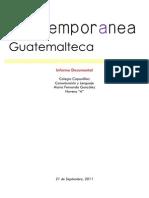 Investigación de la Literatura Contemporanea Guatemalteca IDIOMA 4U 9