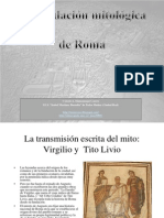 La fundación mitológica de Roma - Diapositivas