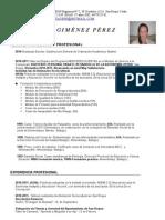 CV Guadalupe Giménez Pérez