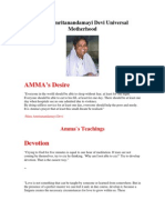 Mata Amritanandamayi Devi - AMMA's Teachings