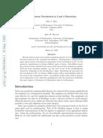 John C. Baez and John W. Barrett- The Quantum Tetrahedron in 3 and 4 Dimensions