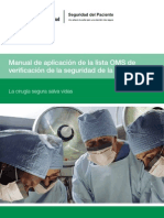 Manual Lista Cirugia Segura