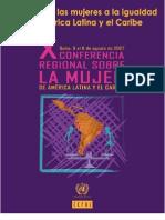 CEPAL 2007 Mujer y Trabajo Latinoamérica