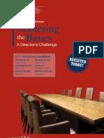 2011 Mastering Basics Brochure