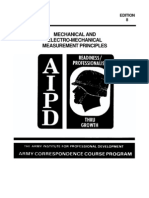 US Army Course (1986) Mechanical and Electromechanical Measurement Principles MM0486