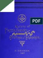 70691365 a History of Freemasonry in the Province of Shropshire 1892 Graham