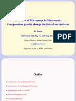 Ma Yongge et al- The Show of Microscope in Macroscale