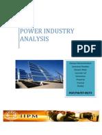 POWER SECTOR REPORT IIPM CHENNAI
